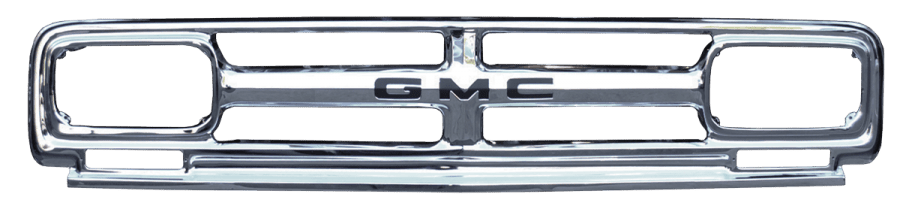 1967 GMC pickup grille with GMC lettering