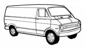 1971-1997 Dodge Full Size Van
