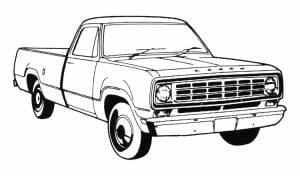 1972-1993 Dodge Pickup Truck