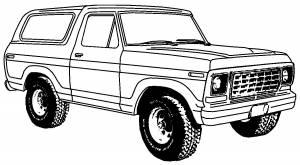 1978-1979 Fullsize Bronco