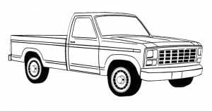 1980-1986 Ford Pickup Truck