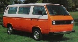 1980-1990 Volkswagen Vanagon (Transporter) T3