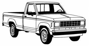 1983-1992 Ford Ranger-Bronco II