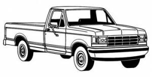 1987-1996 F150 LIGHT DUTY/1987-98 F250 HEAVY DUTY