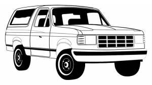 1987-1996 Fullsize Bronco