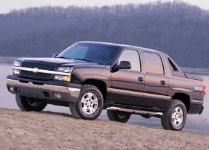 2002-2006 Chevy Avalanche