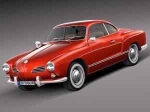 1956-1974 Volkswagen Karmann Ghia