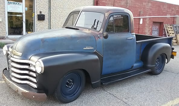 Raybuck - 1953 Chevy truck front