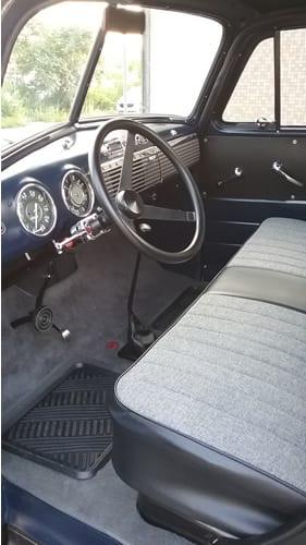 ... Raybuck   1953 Chevy Truck Interior