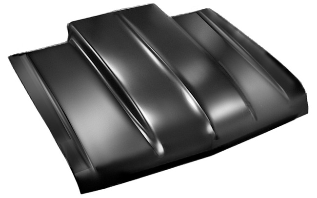 Cowl Induction Pan : Chevy s fleetside rear roll pan w o license