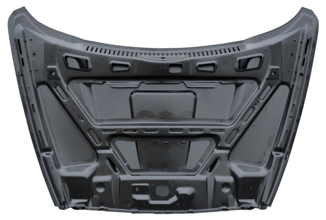 2002-2008 RAM AIR STYLE COWL HOOD (2ND DESIGN) - underside