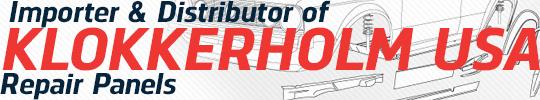 Importer & Distributor of KLOKKERHOLM USA Repair Panels