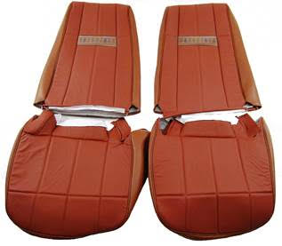 1980-1986 Ford Bronco Front Bucket Seat Cover Kit
