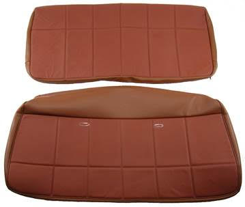 1980-1986 Ford Bronco Rear Bench Seat Cover Kit