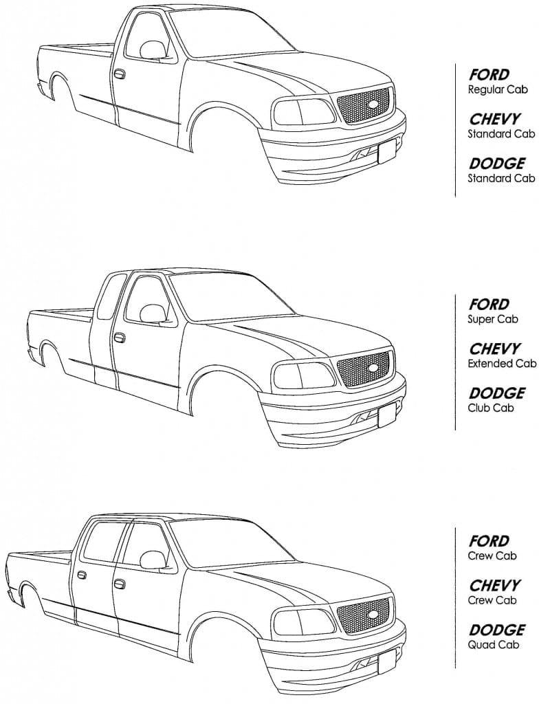 truck cab styles