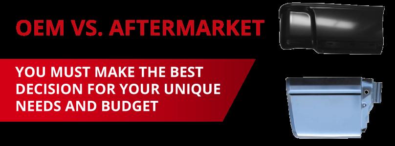 oem panels or aftermarket for your budget