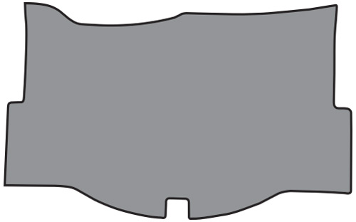 1958-1960 Chevrolet Corvette Trunk Mat Loop