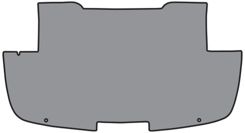 1961-1962 Chevy Corvette Trunk Mat