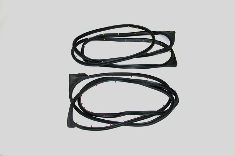 Ford Pickup Front Door Seal Kit Super Cab on Door.jpg