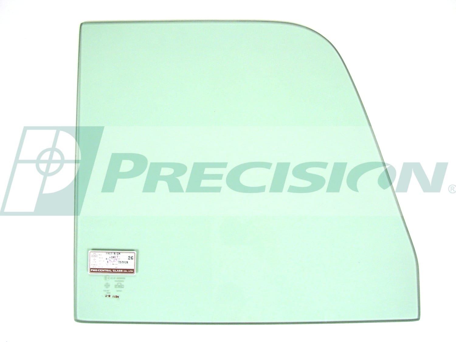1960-1963 GM Pickup Door Glass- Green