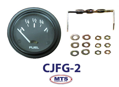 1945-1956 Jeep CJ 12V Fuel Gauge