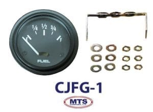 1945-1956 Jeep CJ 6V Fuel Gauge