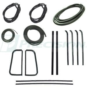 1955-1959 GM Pickup Weatherstrip Kit w/o Windshield Trim Groove