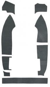 1982-1992 Chevrolet Camaro Trunk Area Felt