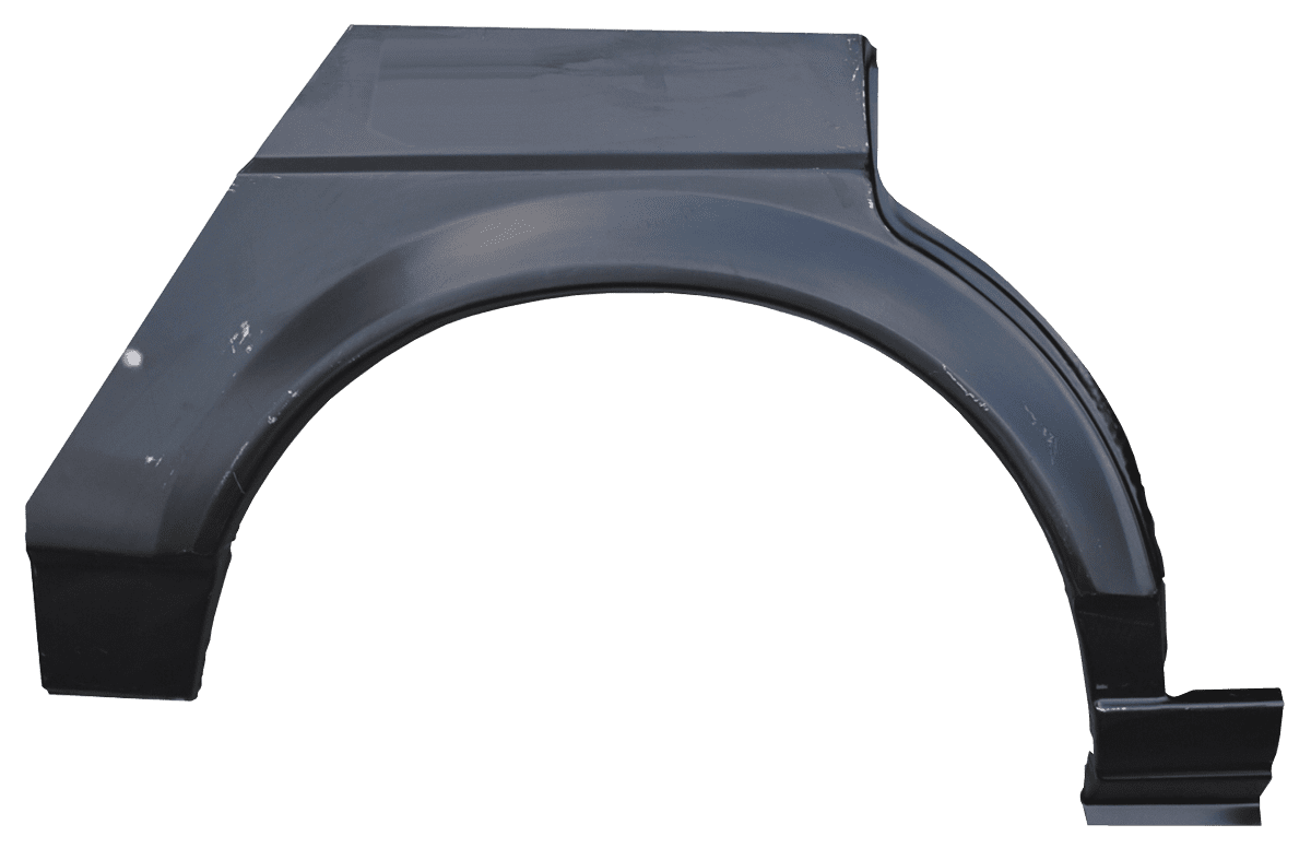 This passenger's side rear wheel arch fits: 1982-1988 Volkswagen Quantum Sedan Measurement 37x26x5 Weight 3lbs