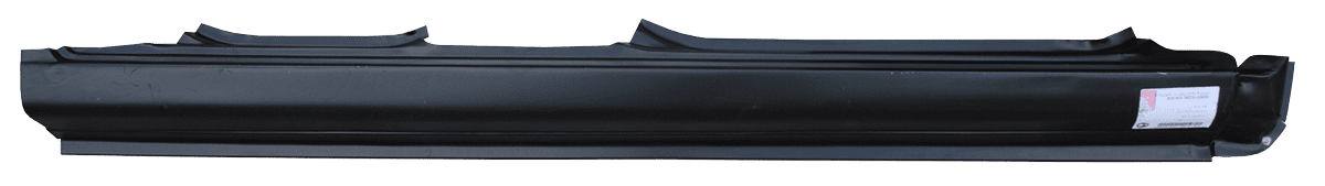 1995-1999 Hyundai Accent 4-Door Sedan Rocker Panel, Passenger Side