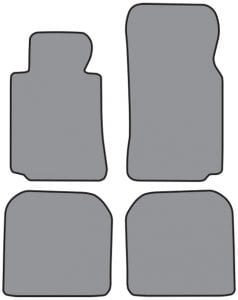 1995-2001 BMW 740iL Floor Mat 4pc (A5323/5323R)