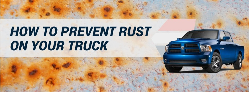 How To Prevent Rust On Your Truck
