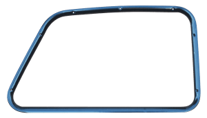 1947-1950 GM Truck Inner Window Frame, Passenger's Side