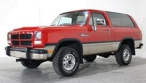 1974-1993 Dodge Ramcharger