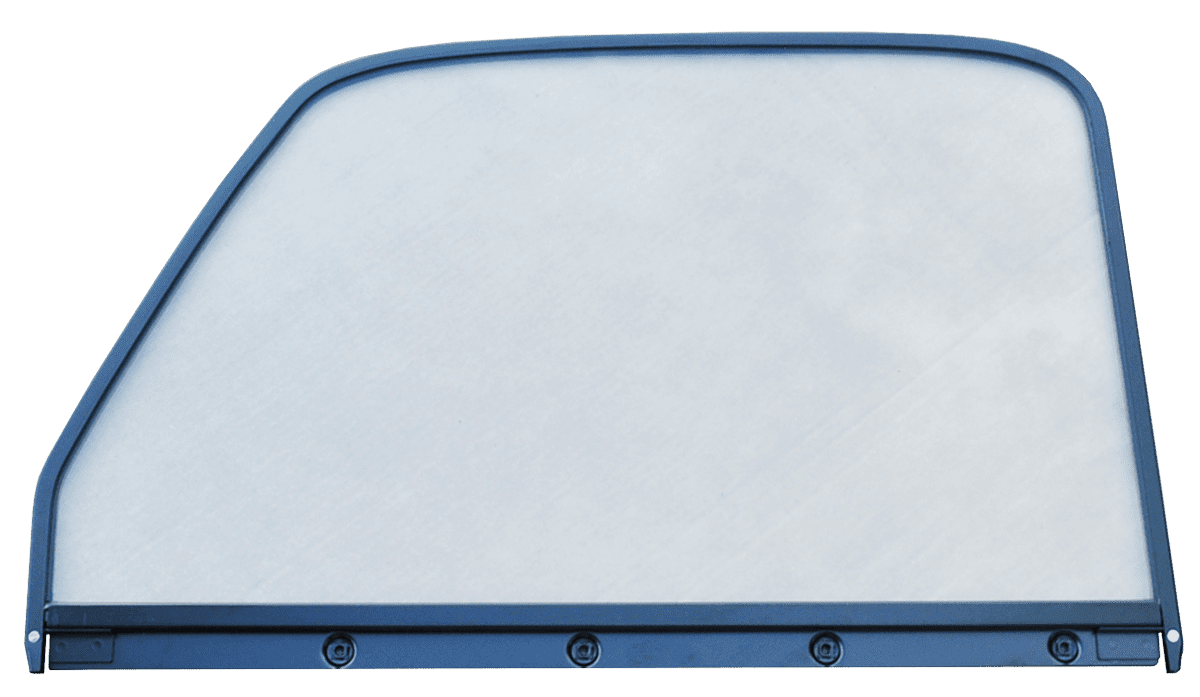1947 1950 Gm Truck Clear Door Glass With E Coated Trim