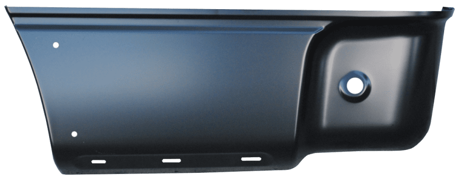 2004-2014 F150 REAR LOWER BED SECTION WITH MOLDING HOLES, DRIVER'S SIDE