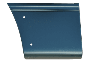 2004-2014 Ford F150 Front Lower Bed Section 5.5' Bed with Mldg Holes, Passenger Side
