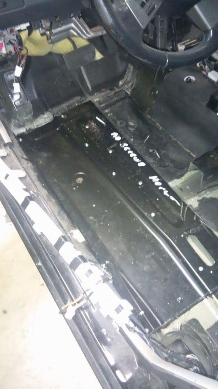 2002 2008 Nissan Altima Maxima Front Floor Pan Driver Side