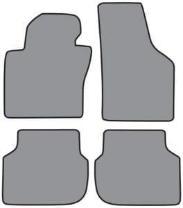 2011-2017 Volkswagen Jetta Floor Mat 4pc