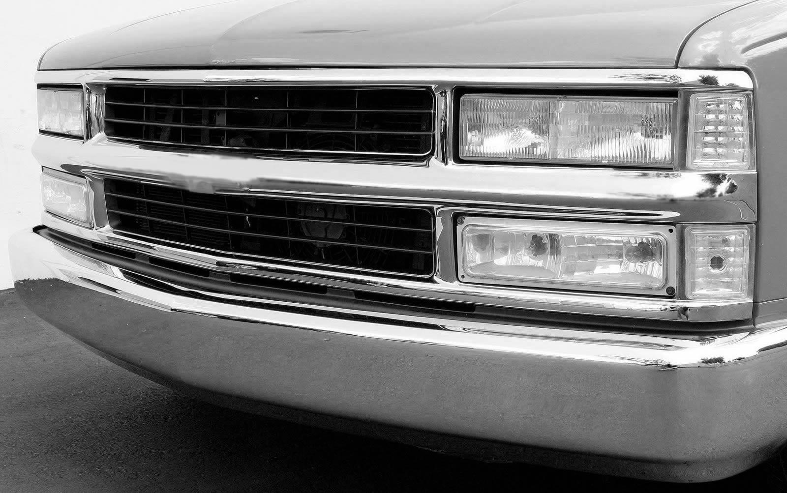 Chevy Pickup Grille on Chevy Silverado Rocker Panel