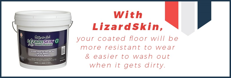 LizardSkin interior automotive coating