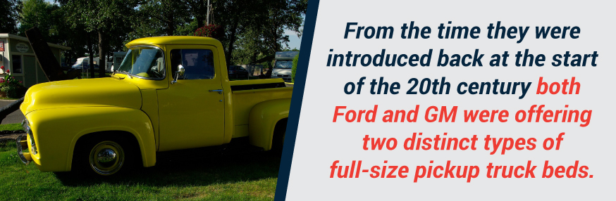 Ford and GM box style history 20th century