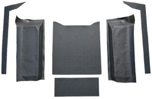 1976-1986 Jeep CJ7 Cargo Area Vinyl Flooring
