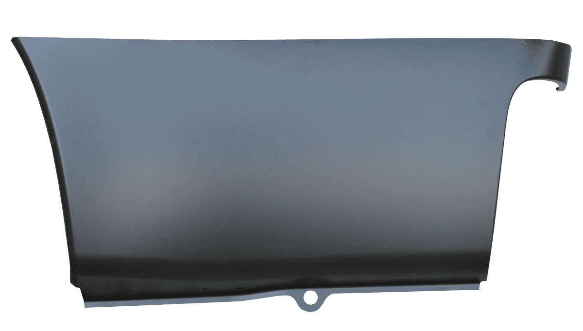 2010-2016 Ford Super Duty Pickup Lower Rear Bedside Section, Driver Side