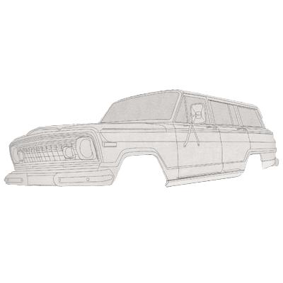 Jeep Repair Panels & Restoration Parts