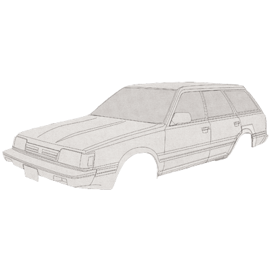 Subaru Repair Panels