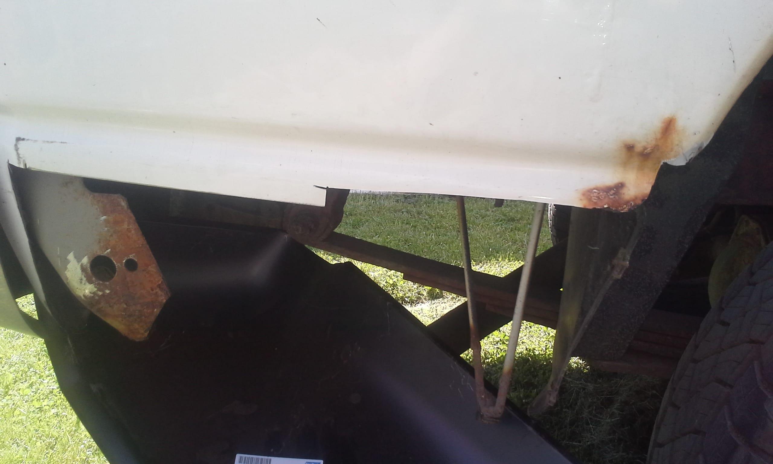 2002 2008 Dodge Ram Pickup Lower Rear Bedside Section 6