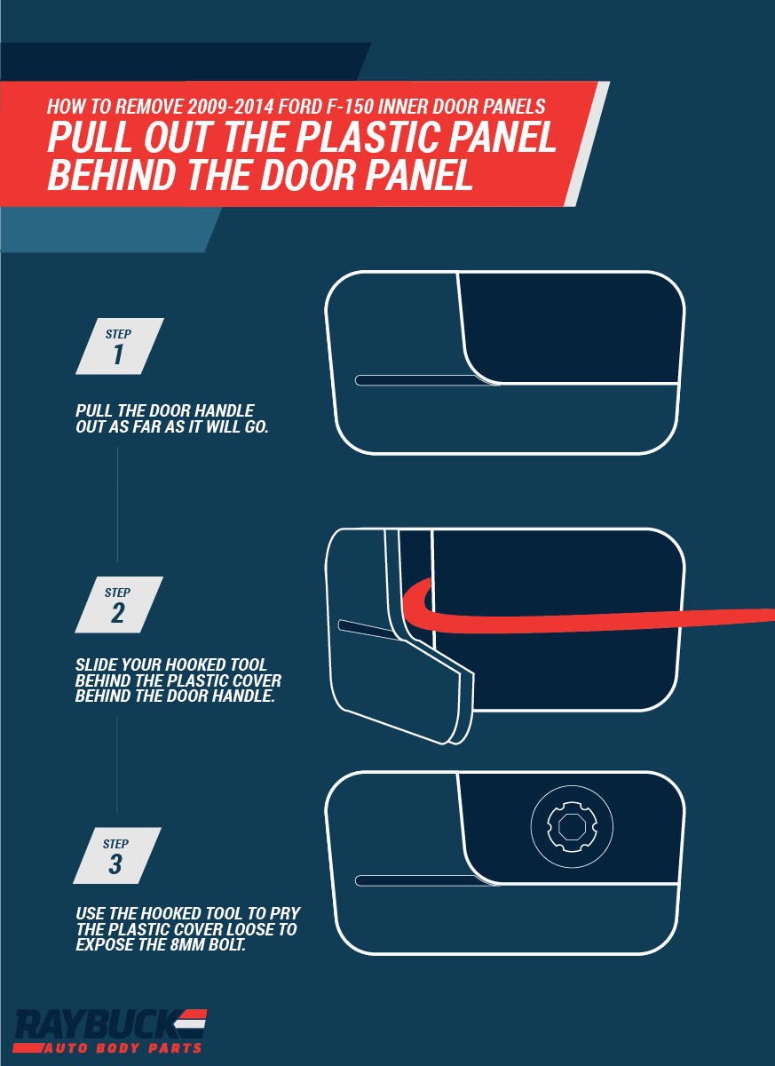 Step by Step Ford F150 Door Panel Removal | 2009-14 Ford F150