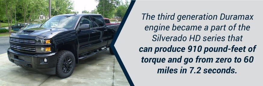 Chevy Silverado HD with Duramax