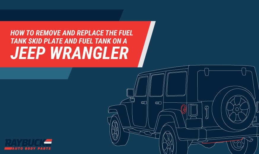 Replace Jeep Fuel Skid Plate